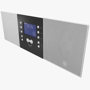 3d model indoor intercom