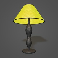 3d model table lamp