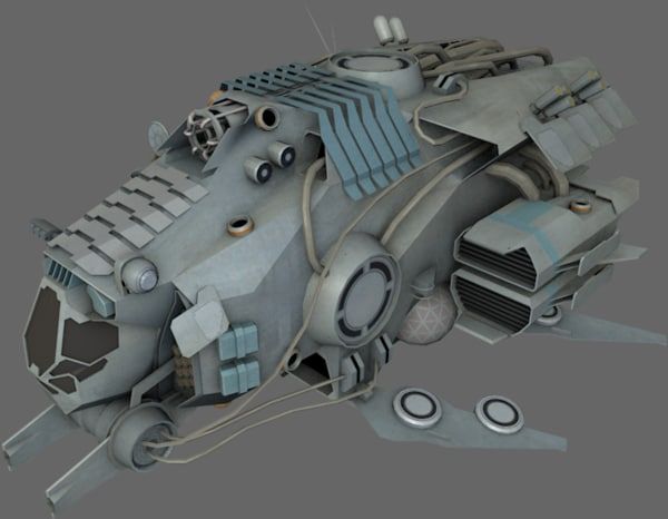 spaceships fighter 3ds