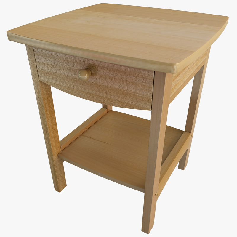 night stand winsome table 3ds
