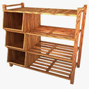 shoe rack 3D models