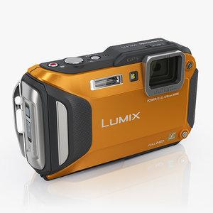 panasonic lumix dmc-ft5 cameras max