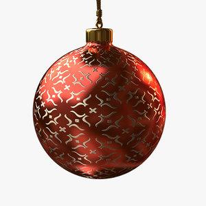 christmas ball - red max
