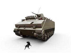 3d turkish army version m-113