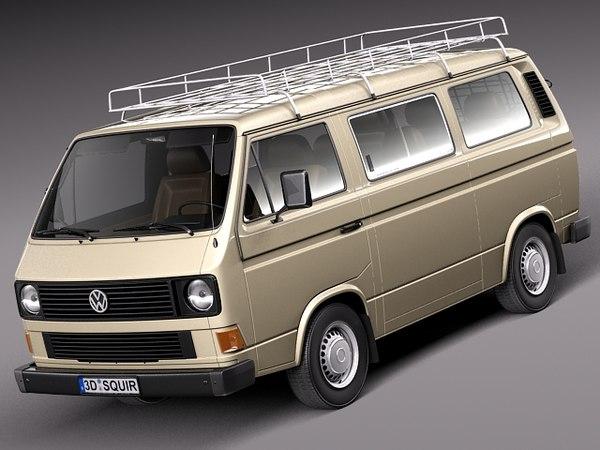 classic 1979 1988 van 3d max