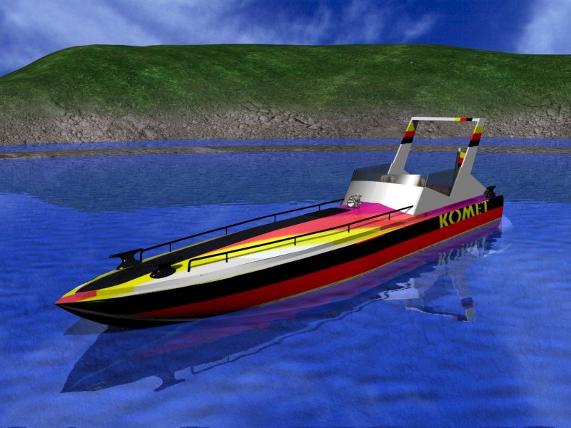 3ds max yacht sport