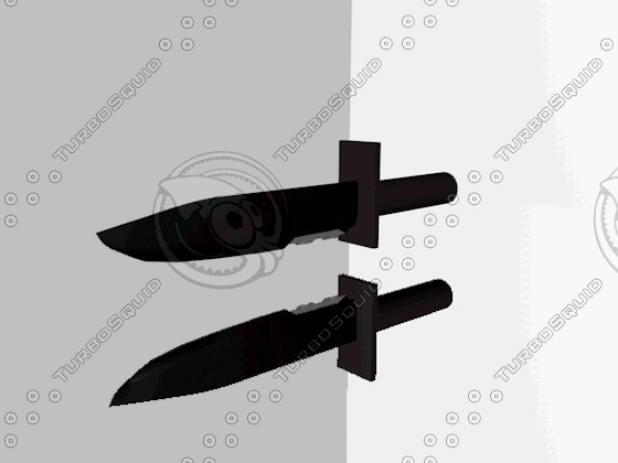 smple knife c4d free