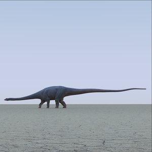 diplodocus dinosaur obj