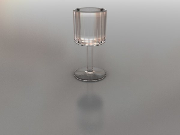 3d 3ds shot glass
