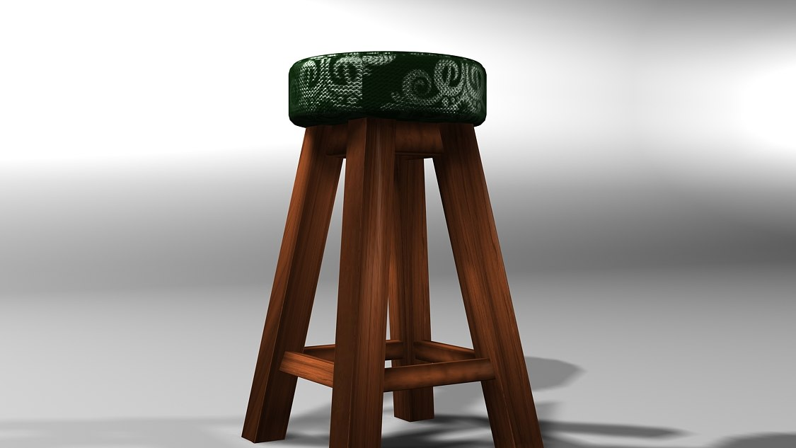 3d photorealistic rustic model