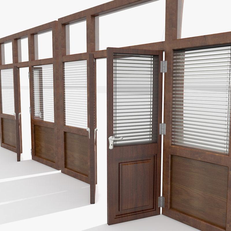 3d model window open