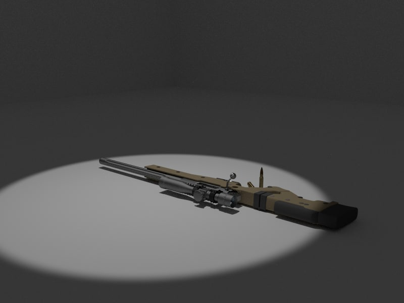 3d accuracy international sniper rifle model