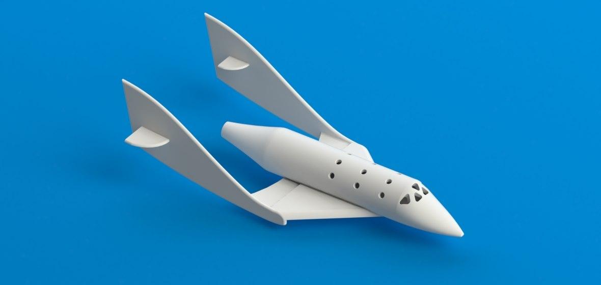 3d 3ds space ship