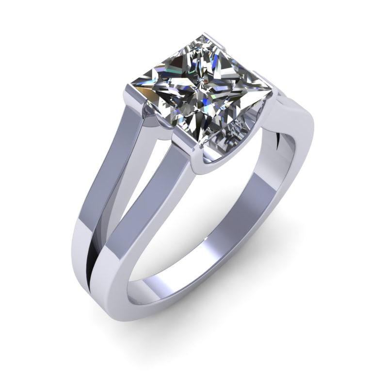 diamond ring 3dm