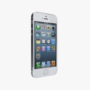 iphone 5s 3d obj