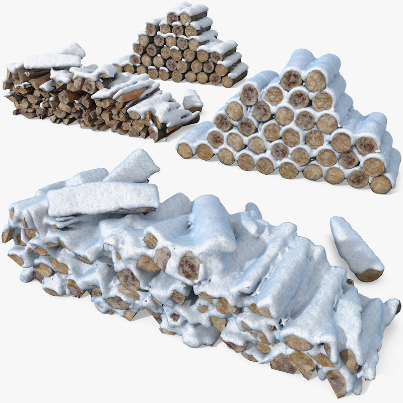 3d model wooden heat