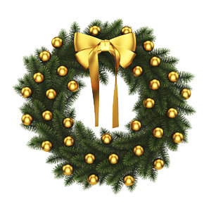 wreath christmas