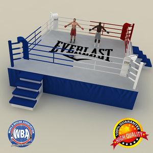 boxing ring max