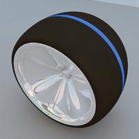 max wheel concept futuristic 2011