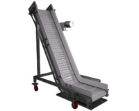 3d model incline conveyor