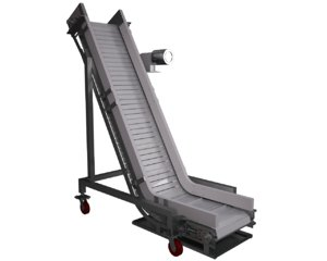 3d model incline conveyor