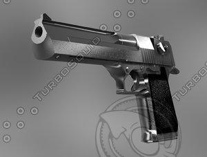 3d pistol desert eagle