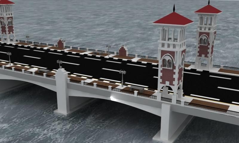 stanly bridge 3d max