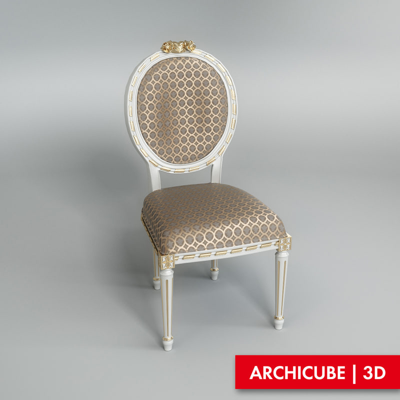 3ds max classic chair