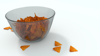 c4d chips glass bowl