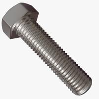 maya hex bolt thread