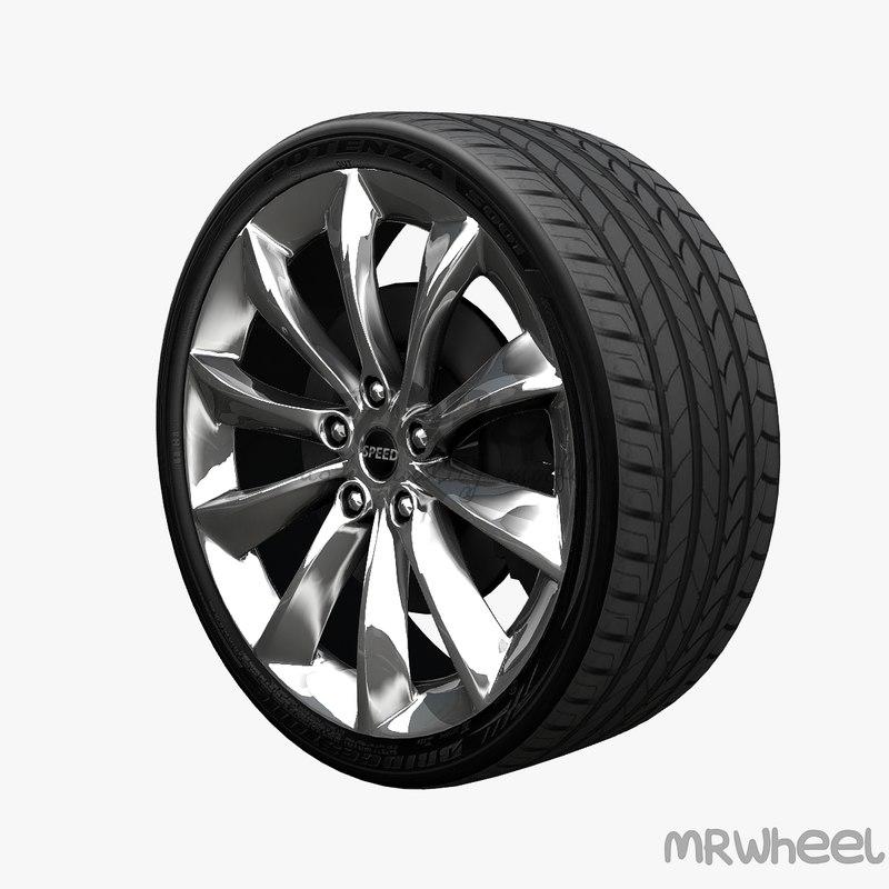3d model wheel mrwheel