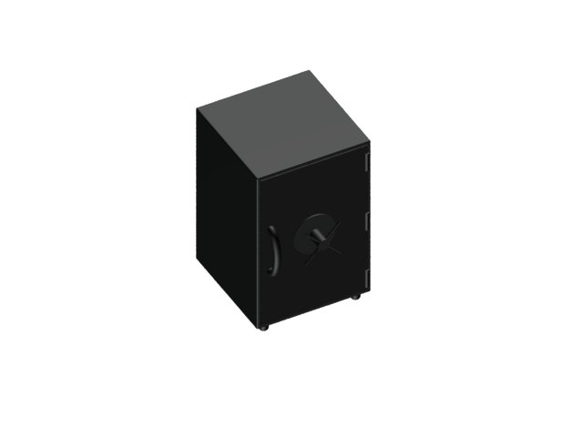 3d model small safe