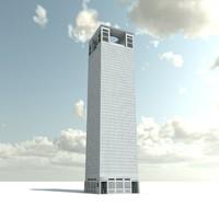 3ds max skyscraper
