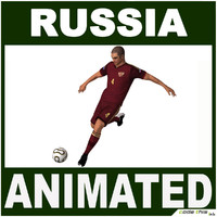 Soccer Player Russia CG