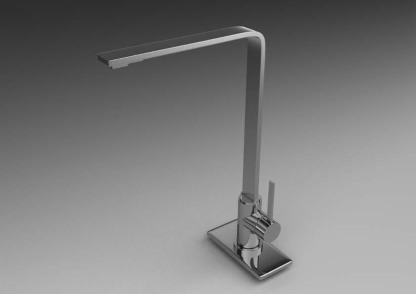 kitchen faucet c4d