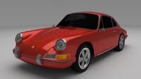 3d model 1964 porsche 911