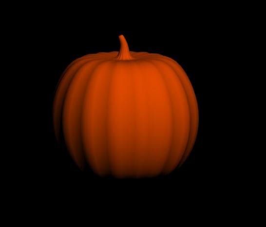 3d max halloween pumpkin