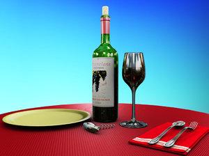wine bottle glass ma