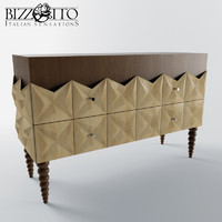 3d model of commode bizzotto