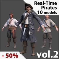 3dsmax pirates real-time