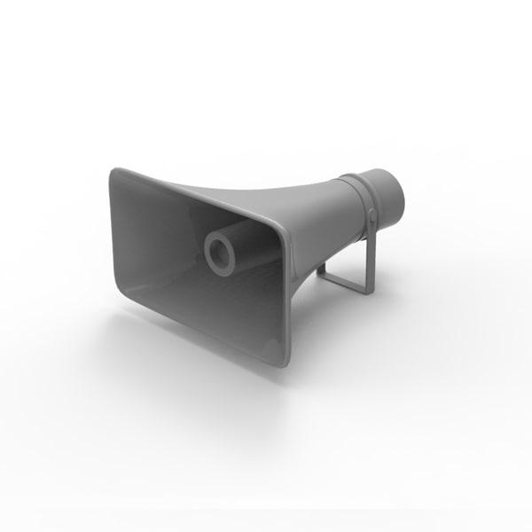 3dsmax speaker loudspeaker