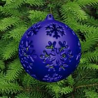 christmas tree ball 3d 3ds