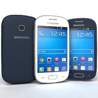 Samsung Galaxy Fame S6810 Lite Bule And White