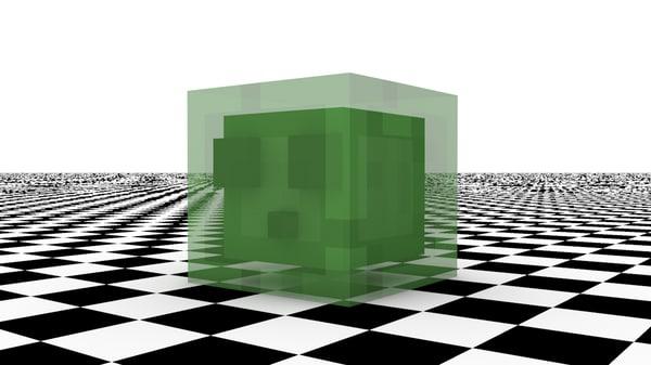 minecraft slime c4d