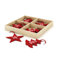 Box of Christmas Decorations 2