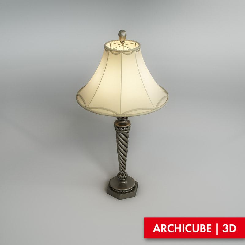 maya table lamp