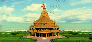 3ds somnath temple