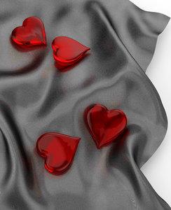 heart cloth 3d model