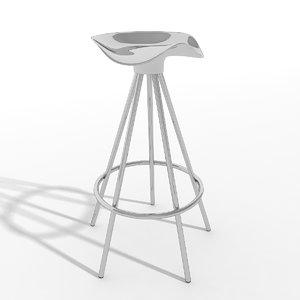 stool jamaica knoll chair 3d 3ds