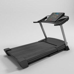 3d model of jogging machine - esteira